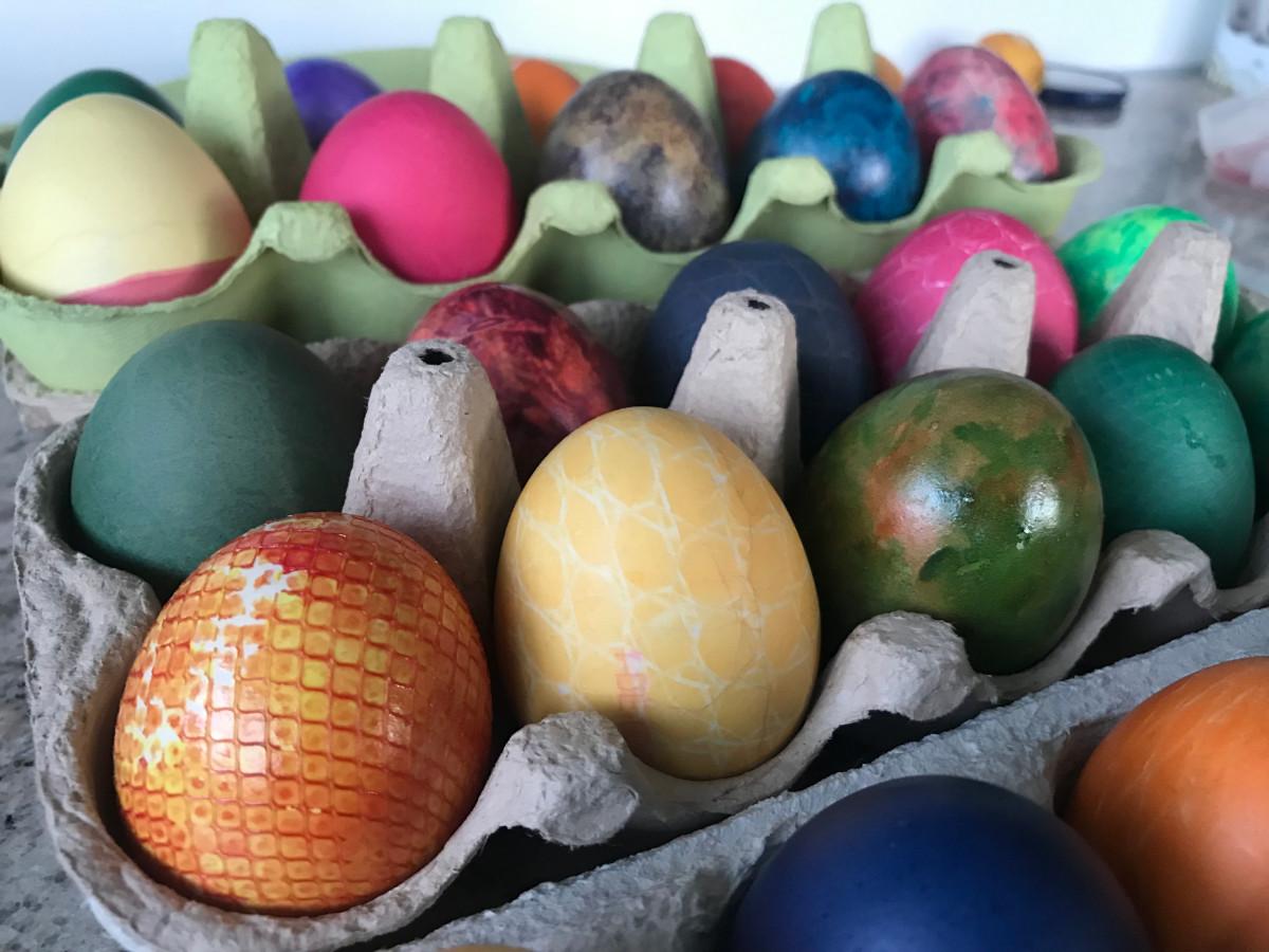 Eier Farbe